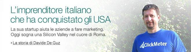 La sua startup aiuta le aziende a fare marketing. Oggi sogna una Silicon Valley nel cuore di Roma.