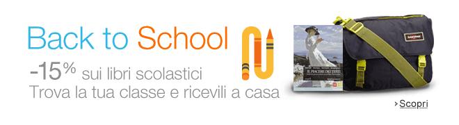 Back to School 2014: Libri scolastici al 15% di sconto e tutto quello che ti serve per il ritorno a scuola