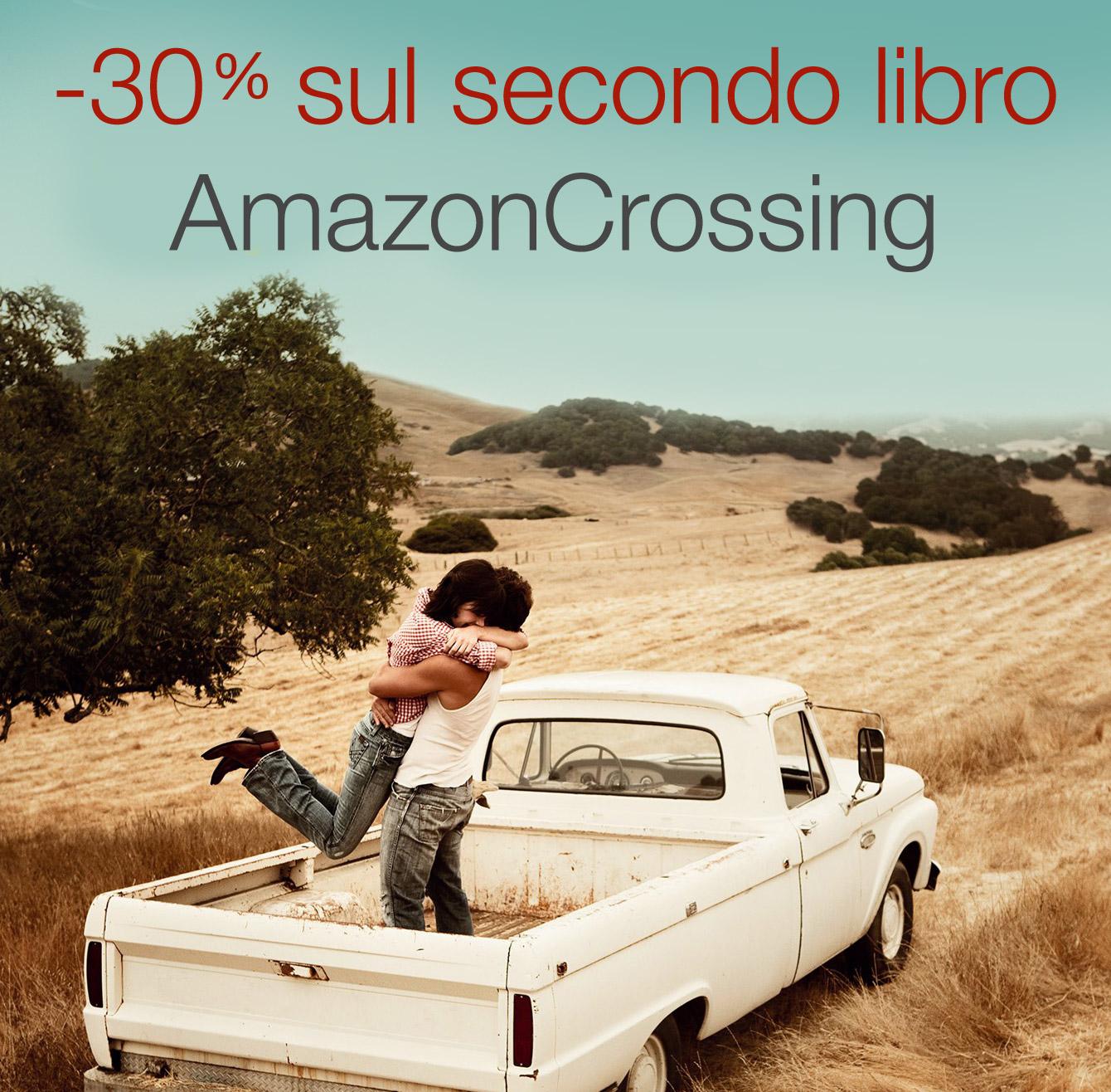 -30% sul secondo libro AmazonCrossing