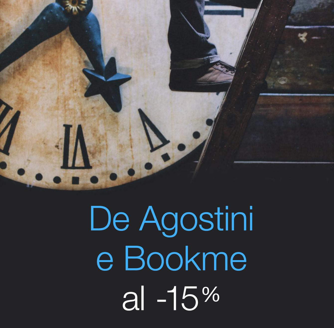 De Agostini e Bookme al -15%