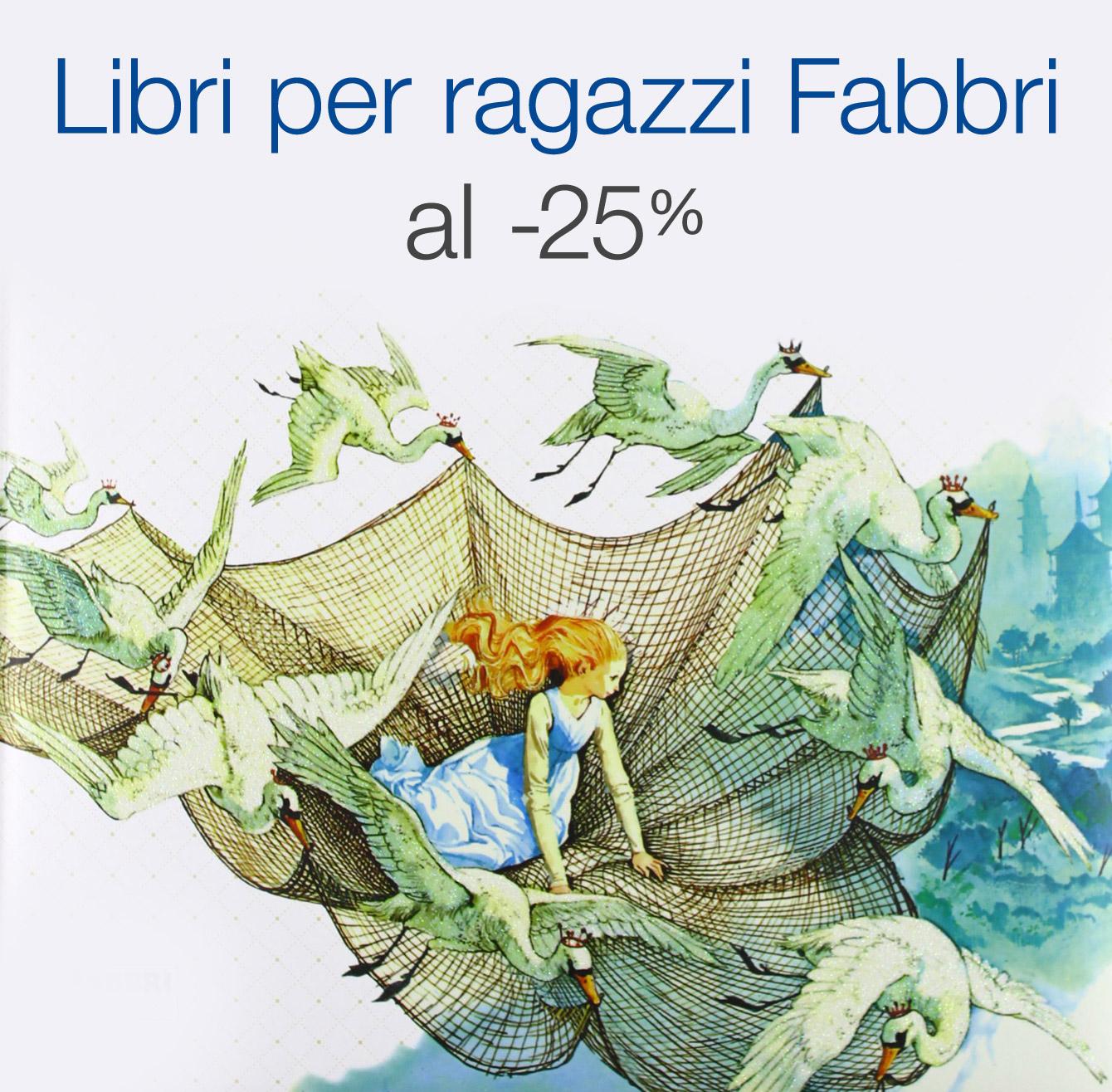 Libri per ragazzi Fabbri al -25%