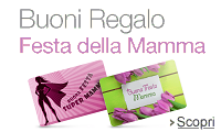 Buoni Regalo Amazon.it per la Festa del Mamma