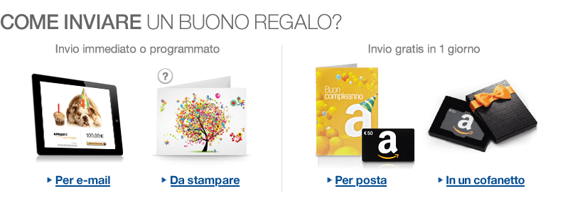 Saldo buono regalo amazon come averlo