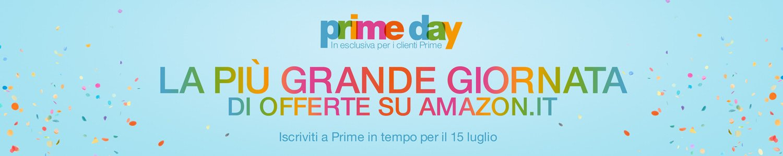 Il Prime Day sta arrivando