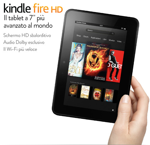 NUOVI KINDLE FIRE HD - KINDLE FIRE