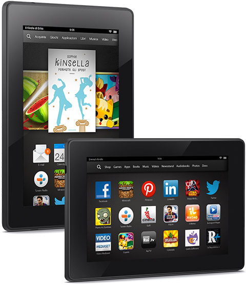 Kindle Fire HD - display 7