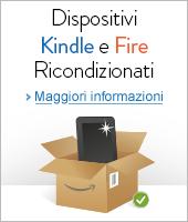 Dispositivos Kindle e Fire Ricondizionati