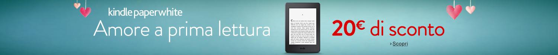 20 euro di sconto su Kindle Paperwhite