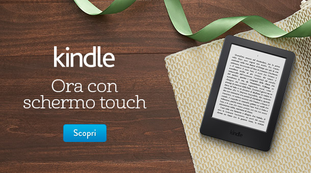 Nuovo Kindle: ora con schermo touch