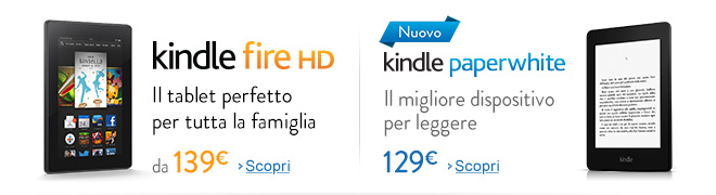 Nuovo Kindle Fire HD