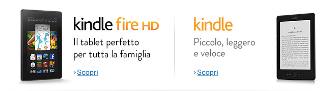 Nouvo Kindle Fire HD - Il tablet perfetto per tutta la famiglia
