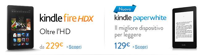 Nouvo Kindle Fire HDX - Oltre l'HD