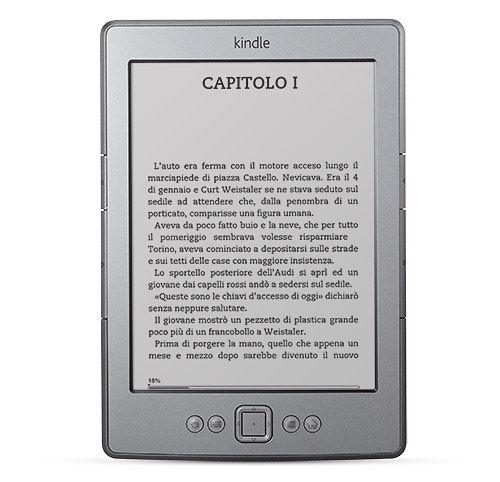 Kindle, lettore di eBook