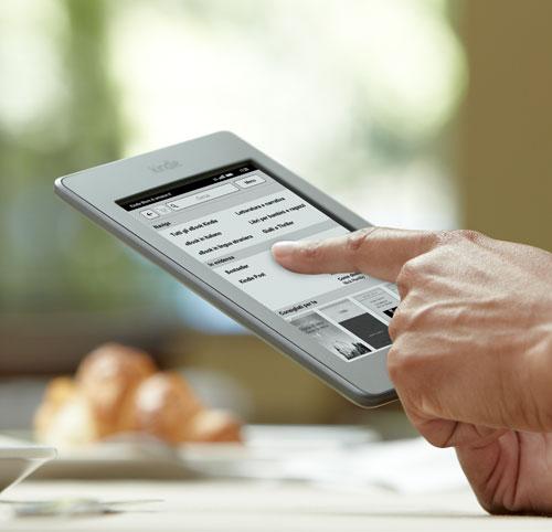 Kindle Touch, piccolo e leggero
