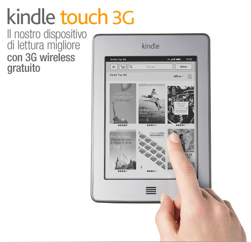 Kindle Touch, scopri di pi�