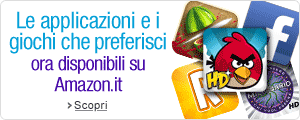 apps e games ora su amazon.it