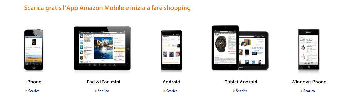 Applicazione Amazon