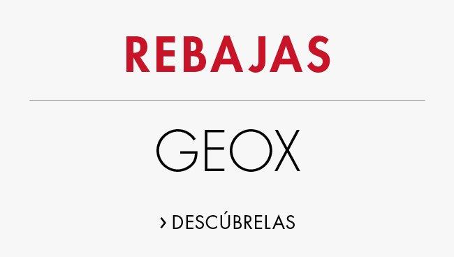 Rebajas en Geox