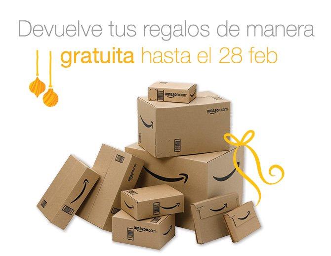 Devuelve tus regalos de manera gratuita hasta el 28 de febrero