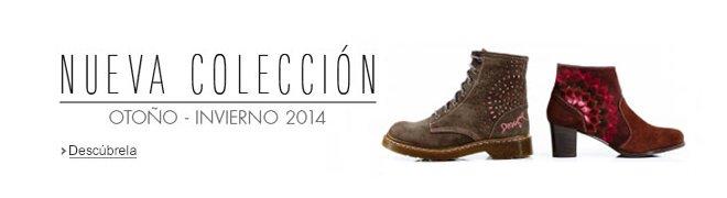 Tienda de Zapatos. Nueva colecci�n Oto�o-Invierno 2014.