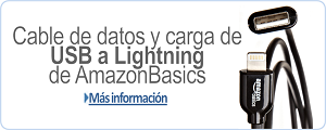 Cable USB a Lightning de AmazonBasics