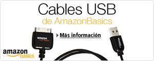 Cables USB de AmazonBasics