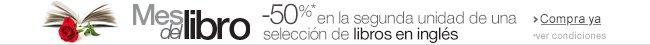 Libros en idiomas extranjeros: Segunda unidad al 50%