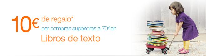Código promocional de 10€ en Amazon.es para Libros