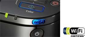 Imprime a distancia a través de Wi-Fi.