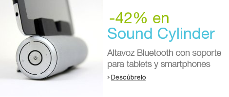-27% en Sound Cylinder