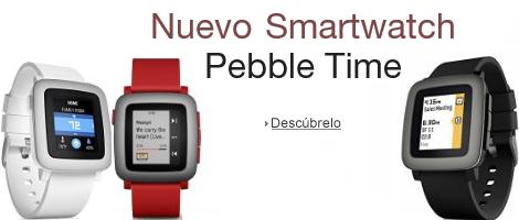 Nuevo Smartwatch Pebble Time