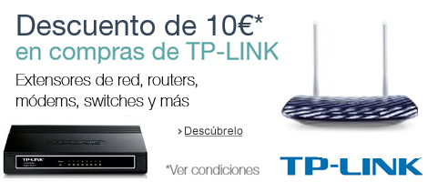 10€ de descuento con TP-LINK