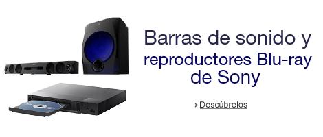 Barras de sonido y reproductores Blu-ray de Sony