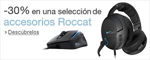 -30% en accesorios Roccat