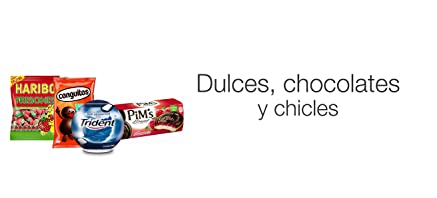 Dulces, chocolates y chicles