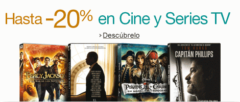 Hasta -20% en Cine y Series TV