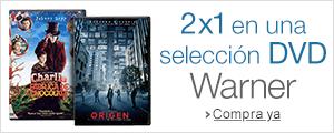 2x1 en una selecci�n DVD Warner