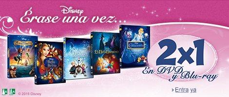 2x1 en cine Disney