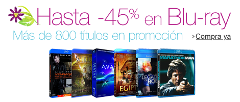 Hasta -45% en Blu-ray