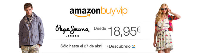 Pepe Jeans en Amazon BuyVIP