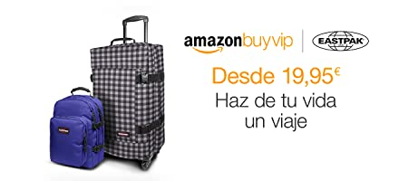 Eastpak desde 19,95 euros em Amazon BuyVIP