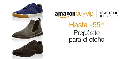 Geox hasta -55% en Amazon BuyVIP
