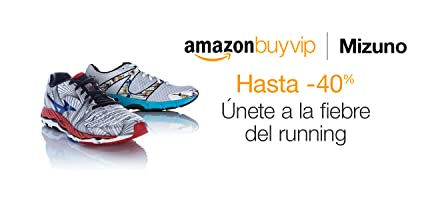 Mizuno hasta -40% en Amazon BuyVIP