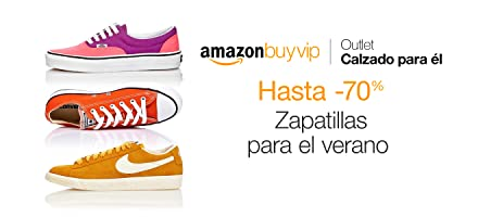 Zapatillas hasta -70% en Amazon BuyVIP