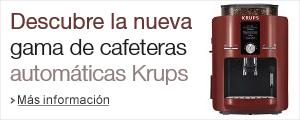 Promo nuevas cafeteras automaticas Krups