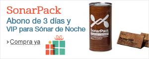 SonarPack, abono de 3 d�as y acceso a las zonas VIP de S�nar de Noche, por 185�