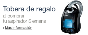 Promo tobera Siemens de regalo