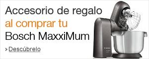 Accesorio de regalo al comprar tu robot Bosch MaxxiMum