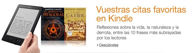 Vuestras citas favoritas en Kindle