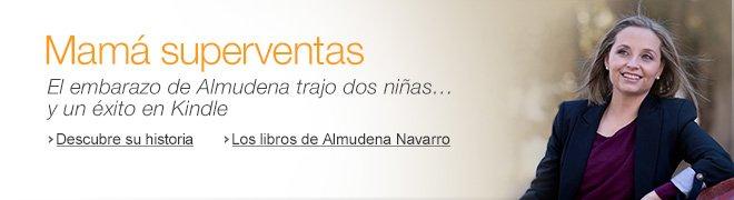 El embarazo de Almudena trajo dos ni�as y un �xito en Kindle